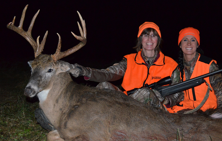 A Big Illinois Buck For Mom