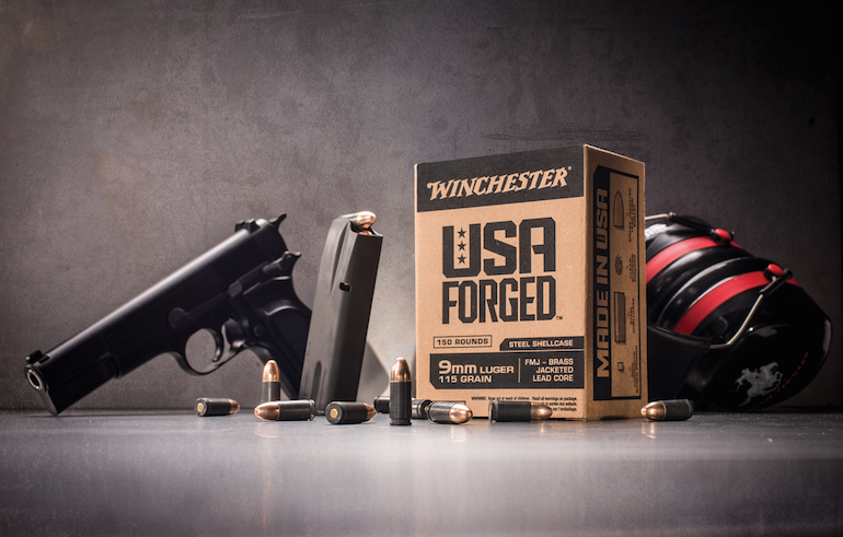 USA Forged: First Steel Case Loads From Winchester
