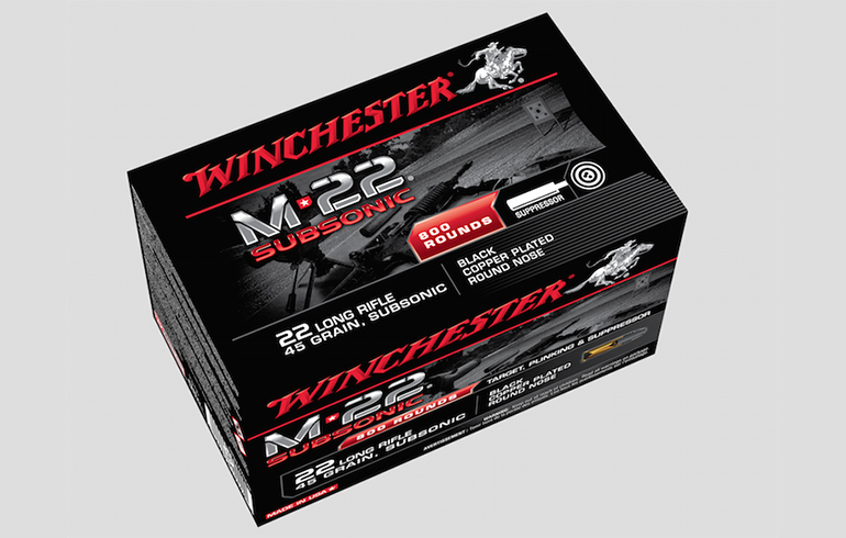 The Need For Speed – The New Winchester M-22 Subsonic