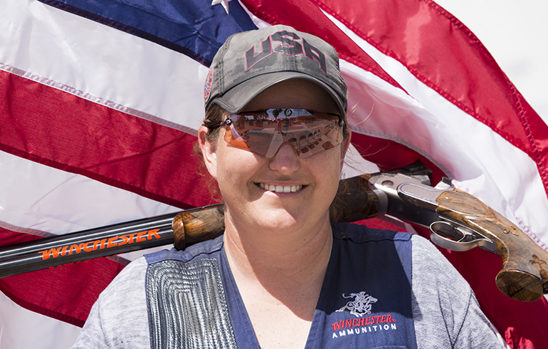 Winchester Congratulates Team USA and Kim Rhode as They Prepare for The Rio Olympics