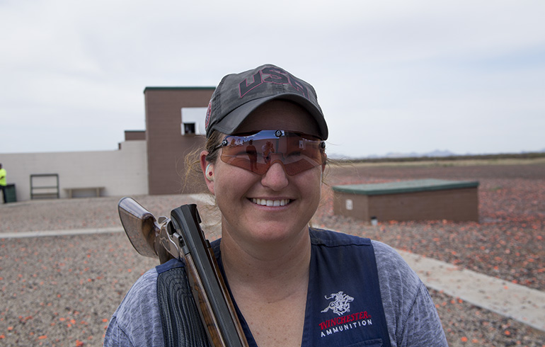 Kim Rhode Sets Olympic Record