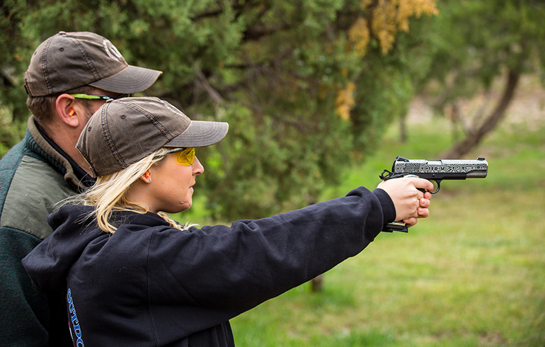 Shooting by the Numbers – More Women on the Range