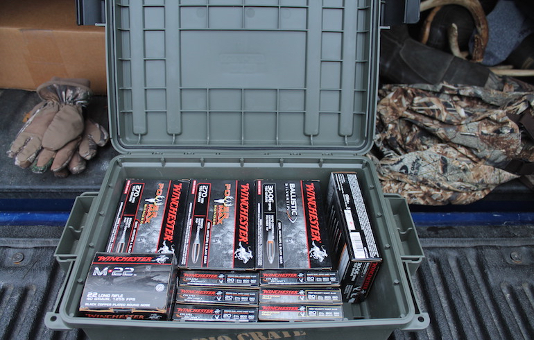 How to Properly and Safely Store Ammunition in the Off-Season