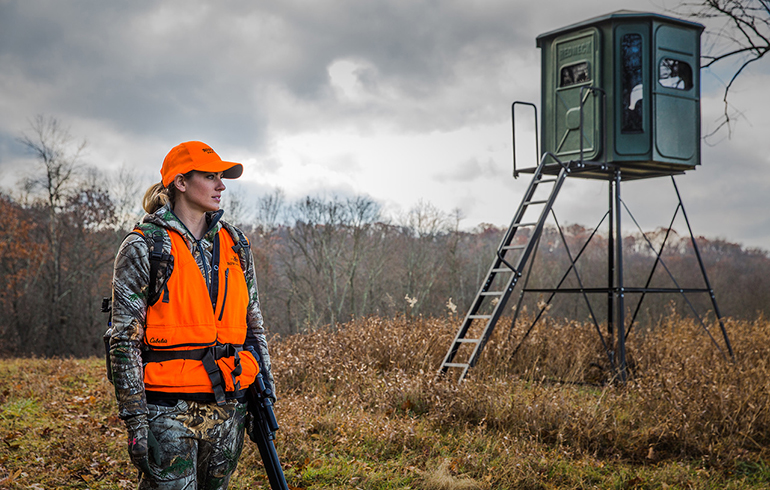 Going in Blind: How to Best Set and Prepare a Blind for Deer Season