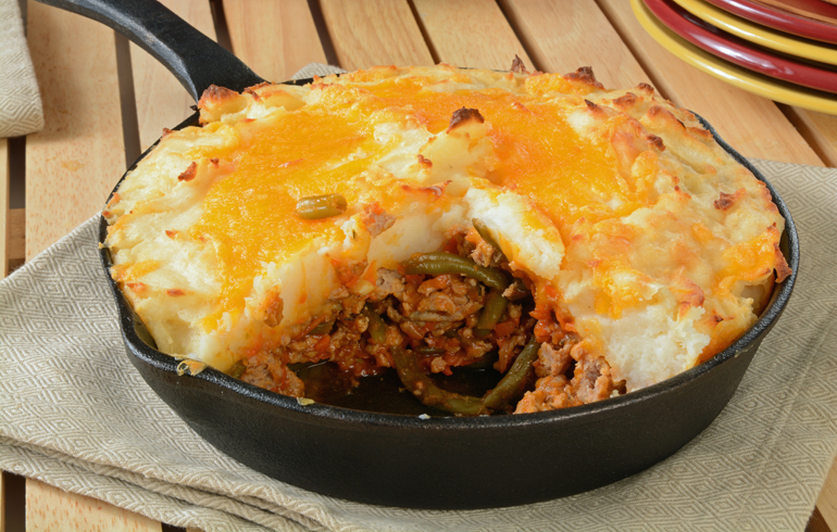 Venison Burger Pie – Easy to Make and Super Delicious!