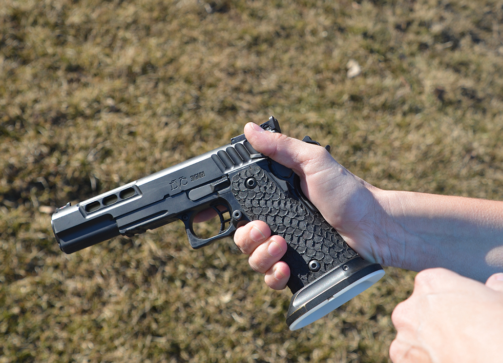 Stance & Grip for a New Pistol Shooter
