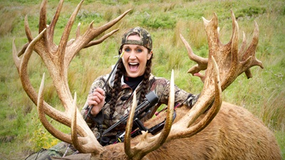 New Zealand World Record Stag