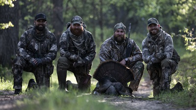 Pittsburgh Steeler Brett Keisel and Producer Arron Bleise Drop Spring Gobblers