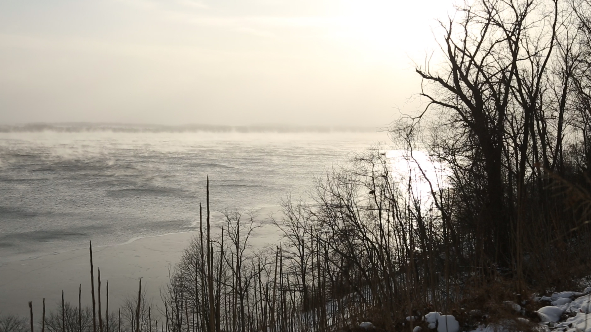 Jason Brown Braves the NY Cold to Hunt Waterfowl